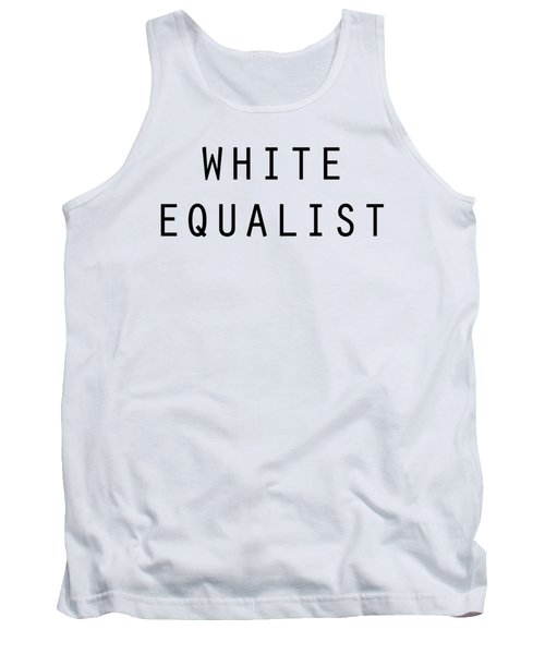 White Equalist Tank Top