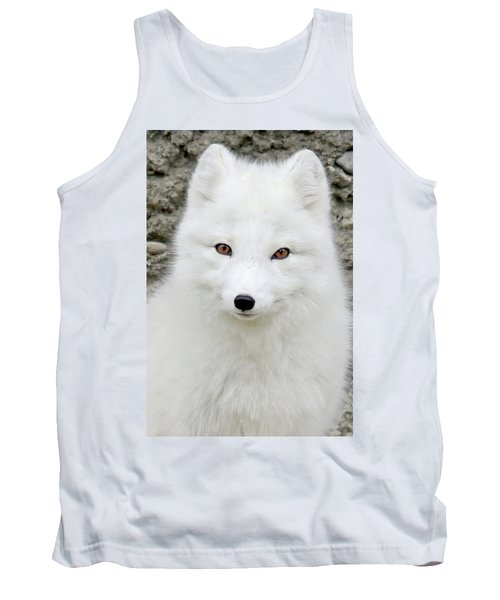 White Fox Tank Top
