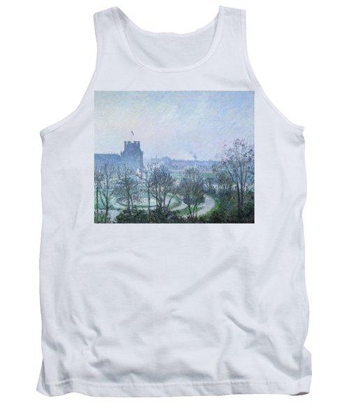 White Frost Jardin Des Tuileries Tank Top