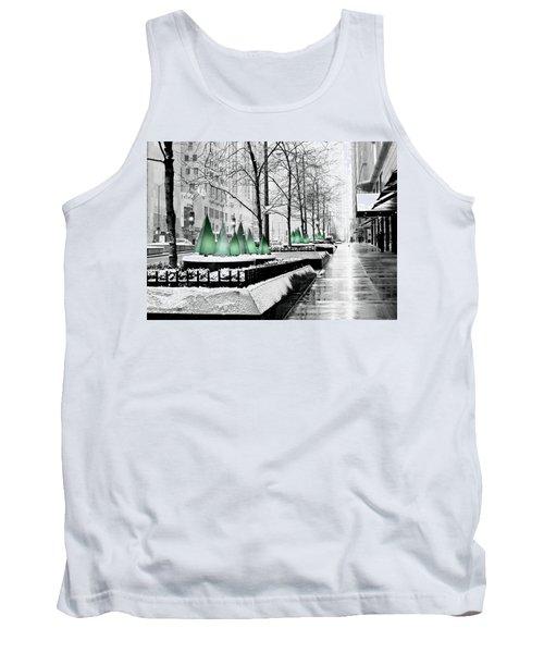 White Mag Mile Christmas Tank Top