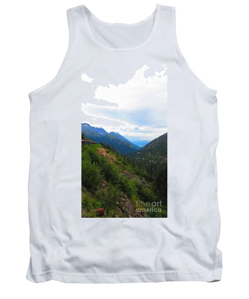 White Pass Rail Road Tank Top