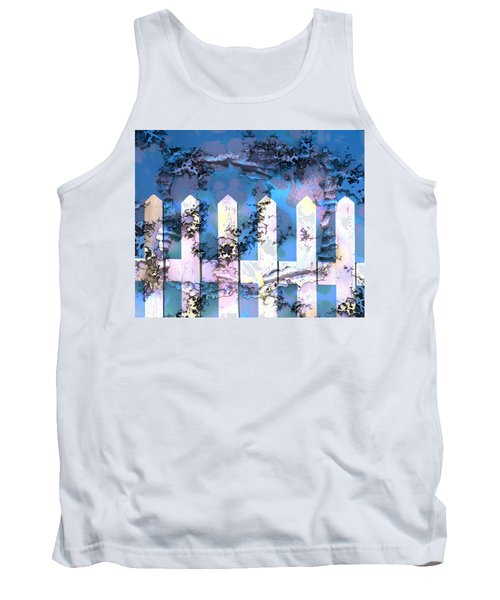 White Picket Fence Tank Top