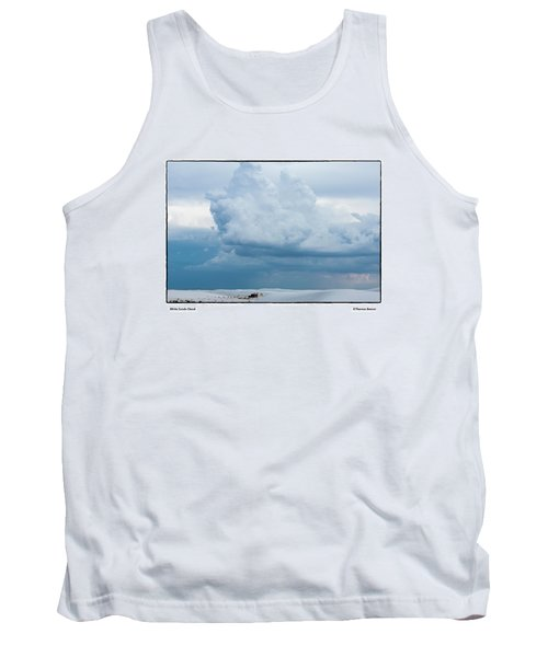 White Sands Cloud Tank Top by R Thomas Berner