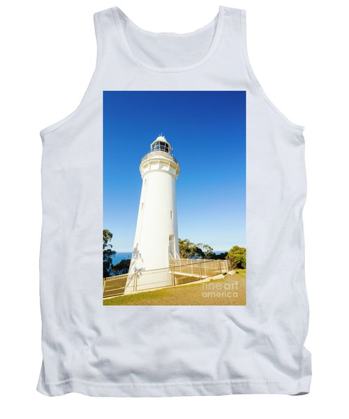 White Seaside Tower Tank Top