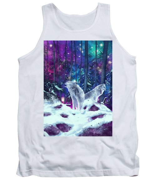 White Wolves Tank Top