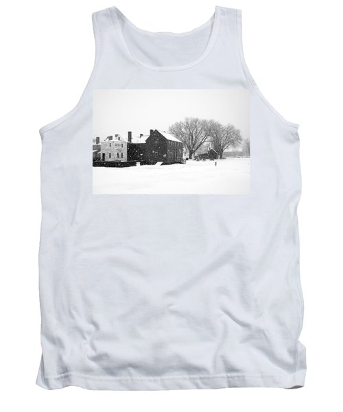 Whiteout At Strawbery Banke Tank Top