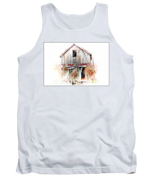 Whiteout In Opequon Tank Top by Suzanne Stout