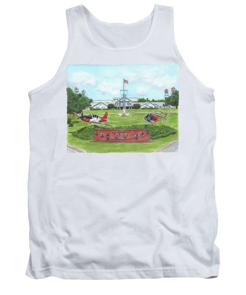 Whiting Field Welcome Sign Tank Top