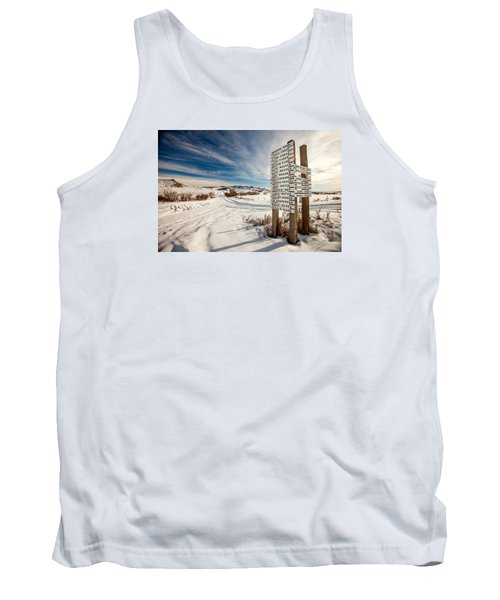 Who Lives Where Tank Top