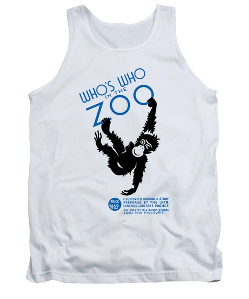 Who's Who In The Zoo - Wpa Tank Top