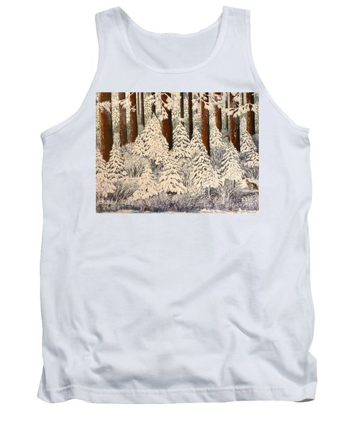 Whose Woods These Are I Think I Know Tank Top