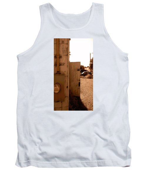 Wide Open Tank Top by Steve Sperry