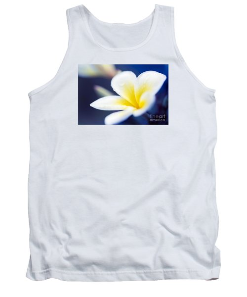Wild Blue Morning Tank Top by Sharon Mau