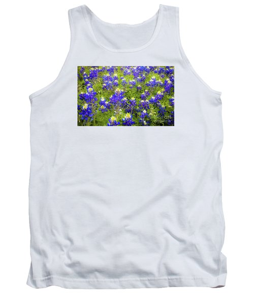 Wild Bluebonnets Blooming Tank Top