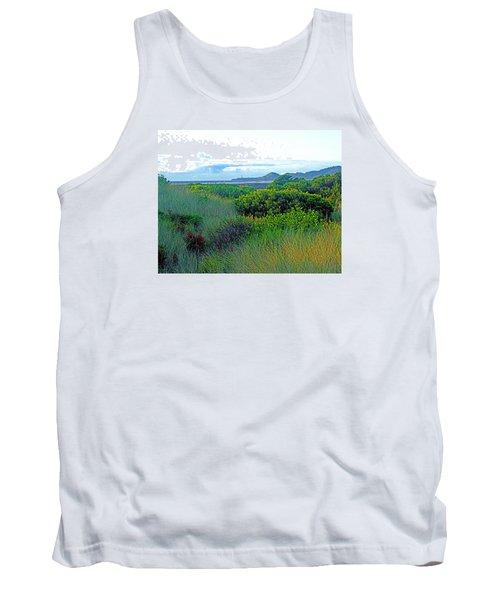 Wild Coastal Flora Tank Top