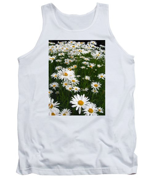 Wild Daisies Tank Top by Dorothy Cunningham