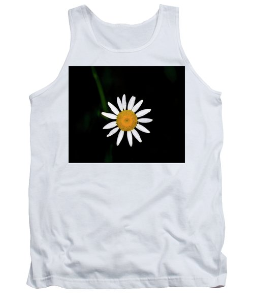 Tank Top featuring the digital art Wild Daisy by Chris Flees