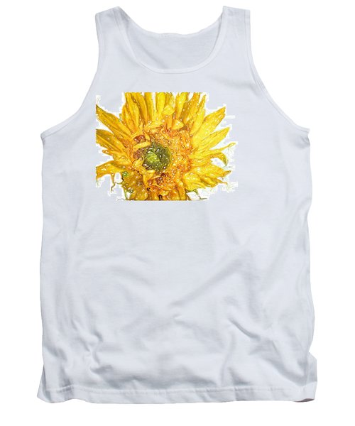 Tank Top featuring the photograph  Wild Flower Two  by Heidi Smith