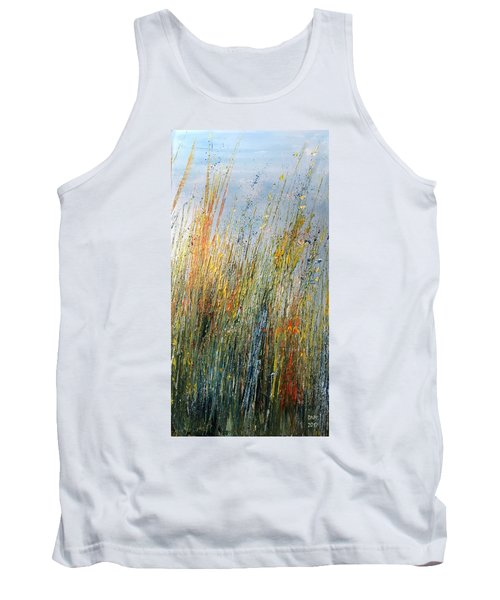 Wild Flowers And Hay Tank Top