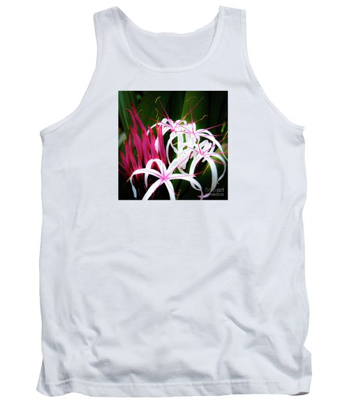 Wild Flowers In Hawaii Tank Top