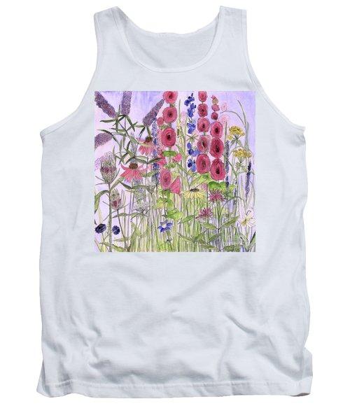 Wild Garden Flowers Tank Top