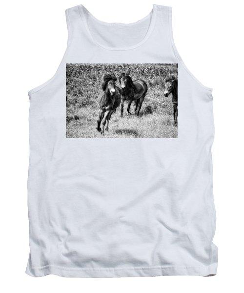 Wild Horses Bw4 Tank Top
