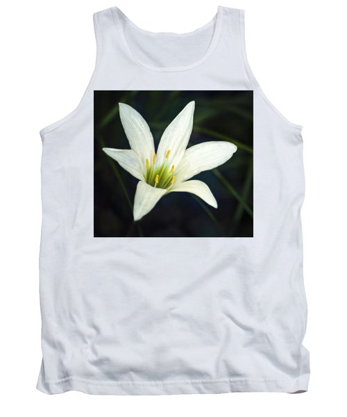 Wild Lily Tank Top by Carolyn Marshall