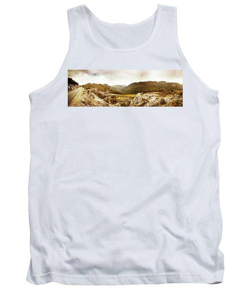 Wild Mountain Terrain Tank Top