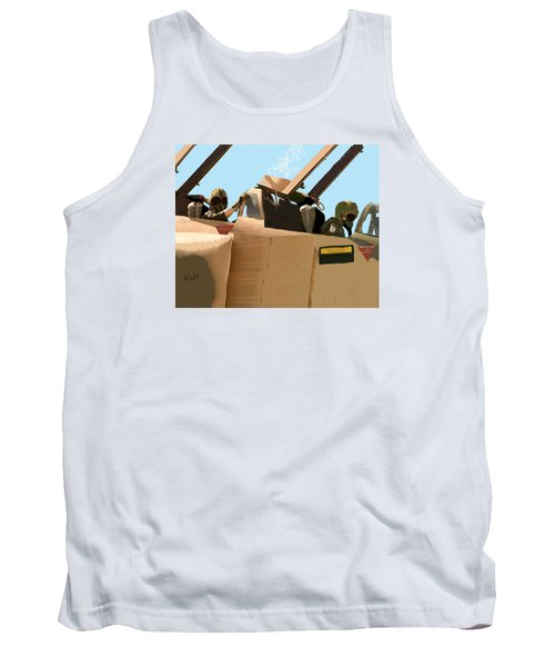 Wild Weasels Tank Top by Walter Chamberlain