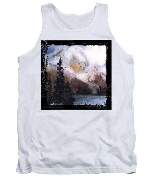 Wilderness Mountain Landscape Tank Top