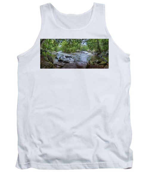 Tank Top featuring the photograph Wilderness Waterway by Bill Pevlor