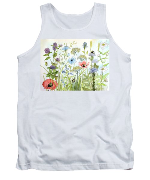 Wildflower And Bees Tank Top