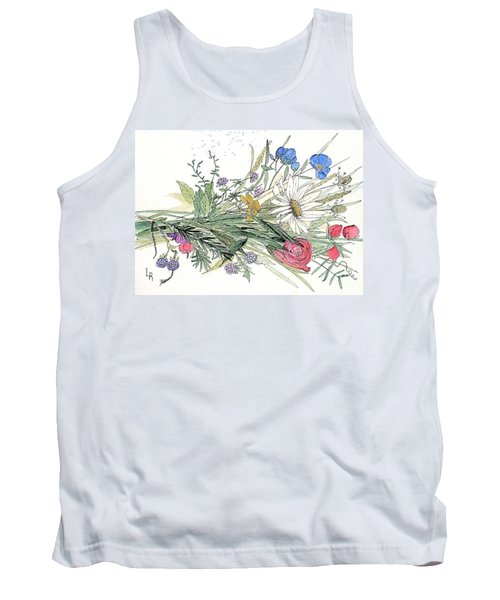 Wildflower Bouquet Tank Top