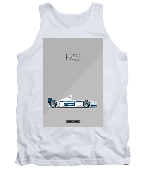 Williams Bmw Fw23 F1 Poster Tank Top