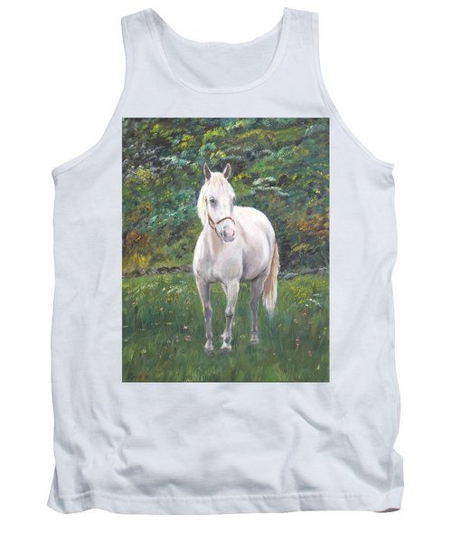 Tank Top featuring the painting Willow by Elizabeth Lock