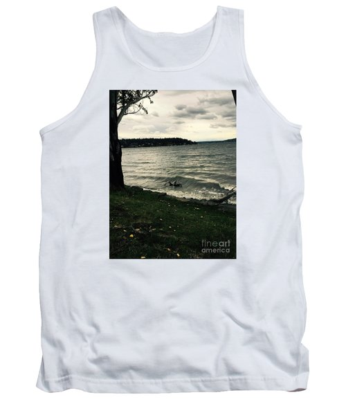 Wind Followed By Waves Tank Top