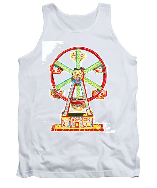 Wind-up Ferris Wheel Tank Top