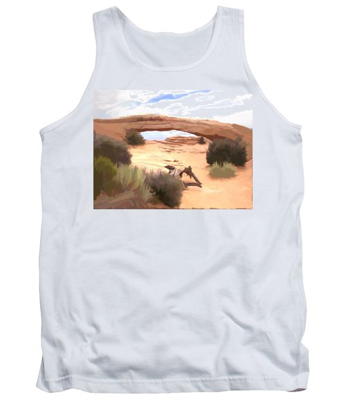 Window On The Valley Tank Top