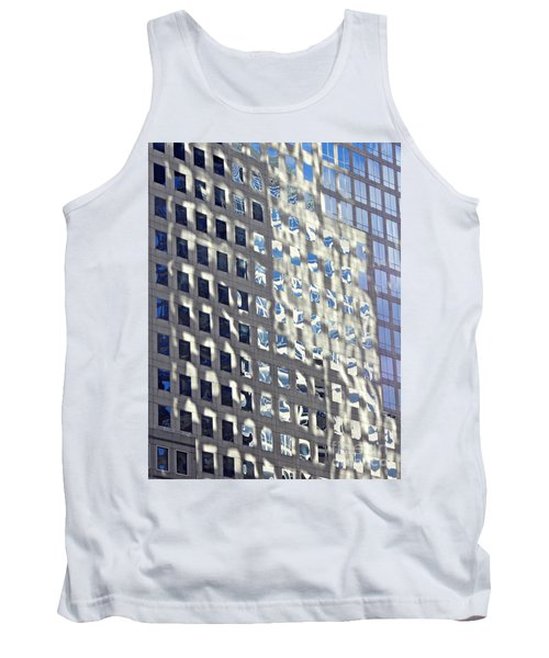 Tank Top featuring the photograph Windows Of 2 World Financial Center 2 by Sarah Loft