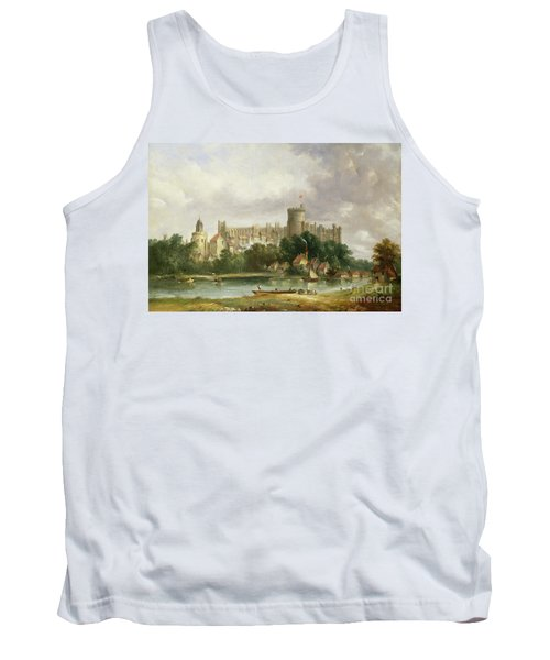 Windsor Castle - From The Thames Tank Top