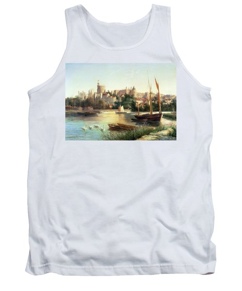 Windsor From The Thames   Tank Top