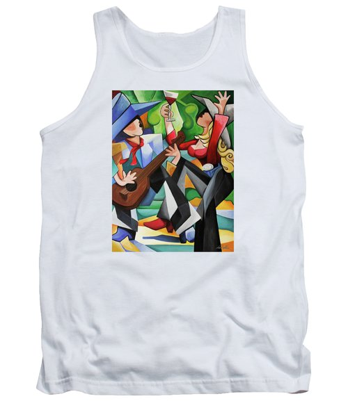 Wine Party Tank Top
