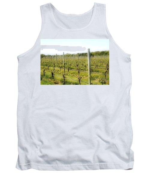 Wineries, Long Island, Ny Tank Top