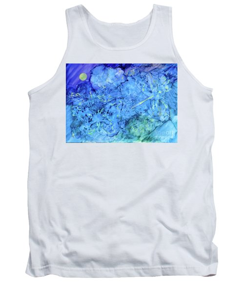 Winged Chaos Under The Moon Tank Top