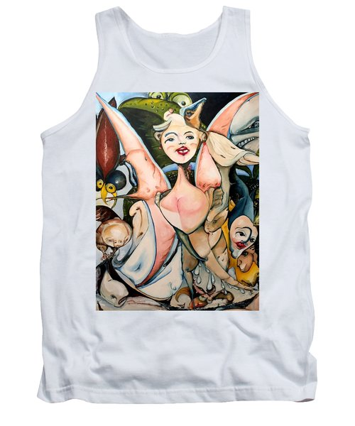 Winged Cooties Tank Top