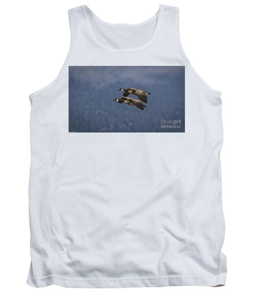 Tank Top featuring the photograph Wingman  by Mitch Shindelbower