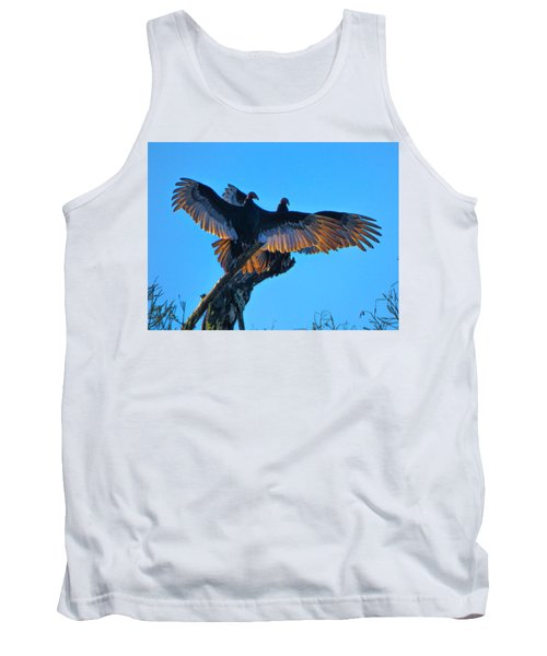 Wings Of Gold Tank Top