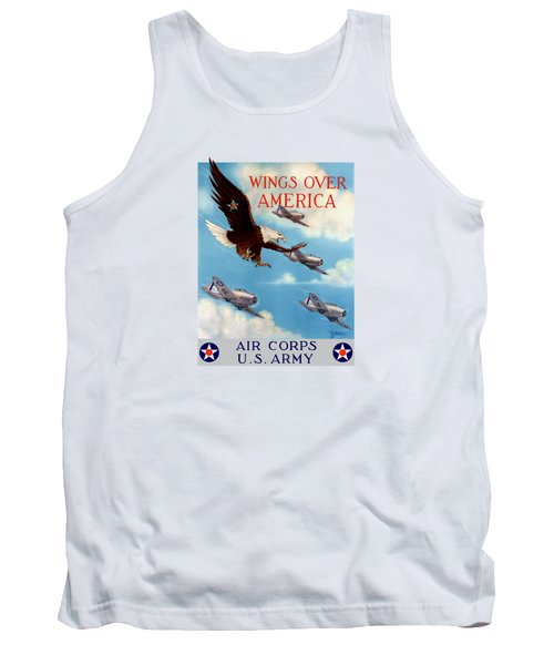 Wings Over America - Air Corps U.s. Army Tank Top