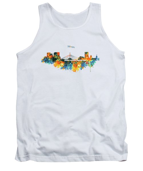 Winnipeg Skyline Tank Top