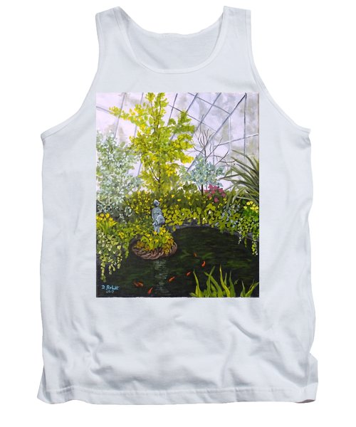 Winter At Allan Gardens Tank Top by Diane Arlitt